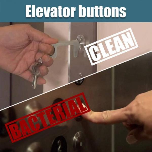 Portable Door Opener Tool Metals & Hardwares Keychains Other Metal & Hardwares 4