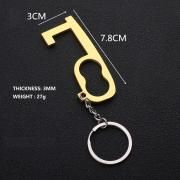 Multipurpose Touch-free Tool with Keychain Metals & Hardwares Keychains Other Metal & Hardwares MHO1005