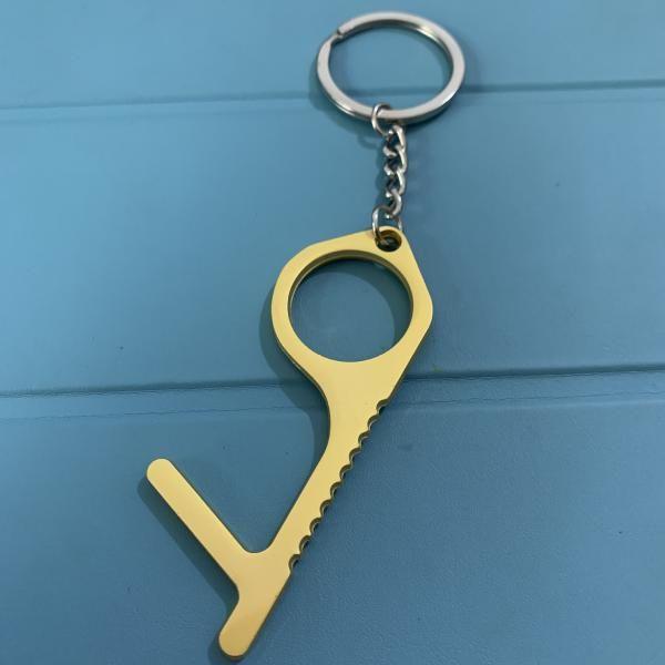 Portable Door Opener Tool with Keychain Metals & Hardwares MHO1007