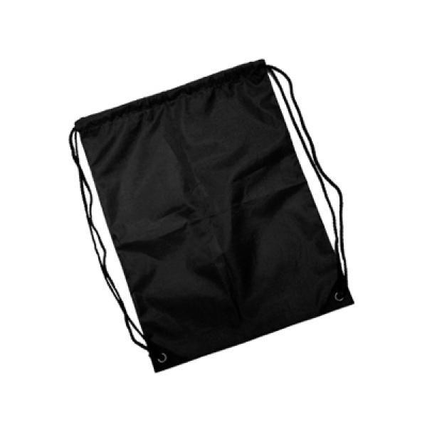 210D Drawstring Bag Drawstring Bag Bags TDS1003_black