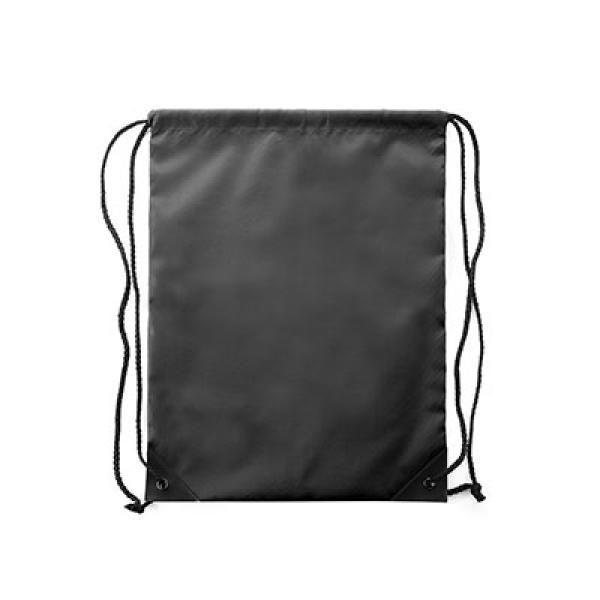 Stannix Drawstring Bag Tote Bag / Non-Woven Bag Bags TDS1013_Black Thumb
