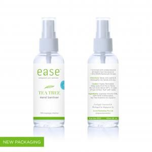 EASE 60ml Tea Tree Spray Sanitizer Personal Care Products KHO1011AxxelEaseProducts_60mlTeaTree