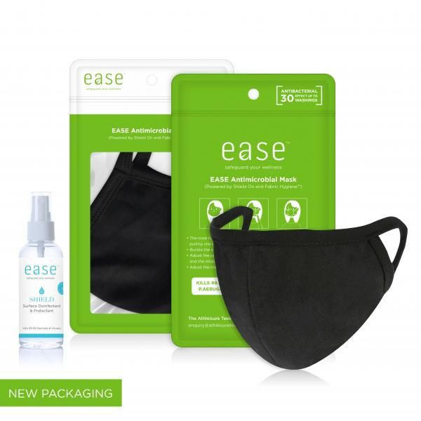 EASE Antimicrobial Retail Care Pack Personal Care Products EaseAntimicrobialRetailCareSet_Black