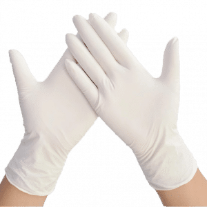 Labskins Disposable Latex Gloves Personal Care Products Personal Protective Equipment (PPE) White-PNG
