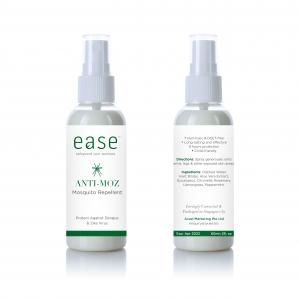 EASE 50ml Anti Mosquito Spray Personal Care Products AxxelEaseProducts_60ml_WhiteBaseAnti-Moz