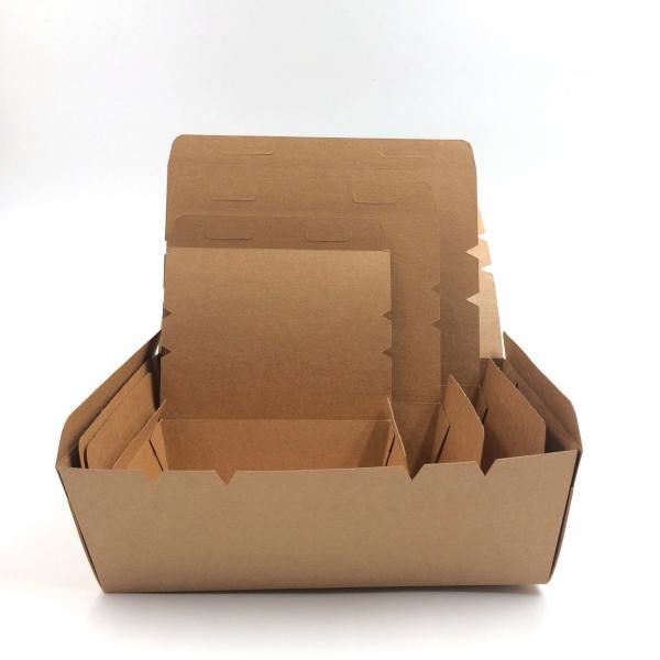 700ml Kraft Paper Salad Box Food & Catering Packaging 122