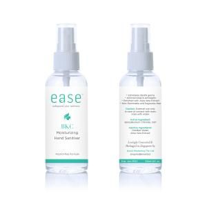 EASE 60ml BKC Hand Sanitizer Personal Care Products AxxelEaseProducts_60mlBKC