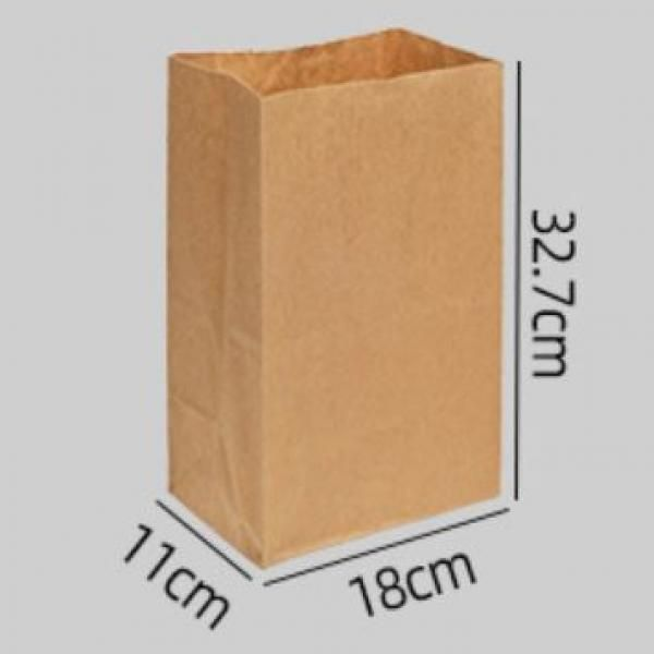 L Size Kraft Paper Bag Food & Catering Packaging Others Food Packaging FOF1001