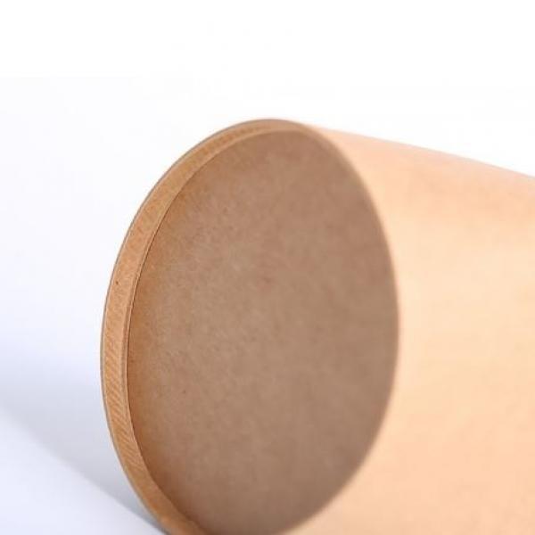 780ml Kraft Paper Take Away Round Box Food & Catering Packaging FTF1023