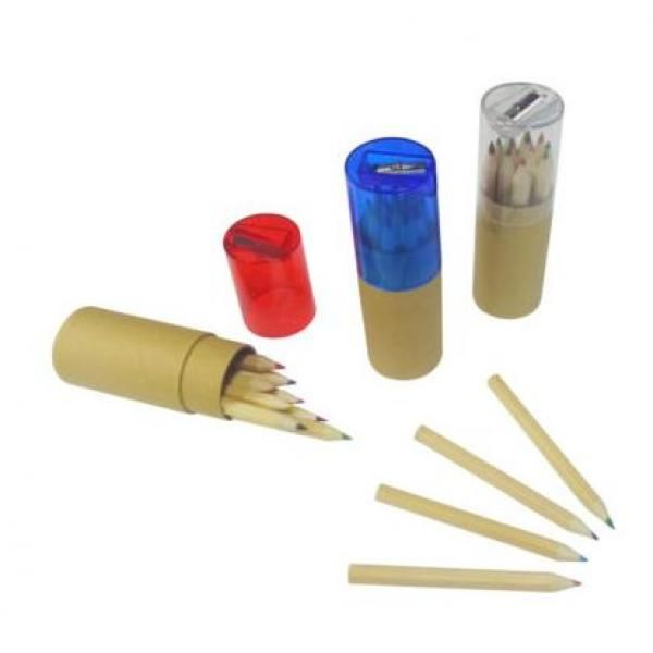 9cm Color Pencil with Sharpener Office Supplies FSS1014