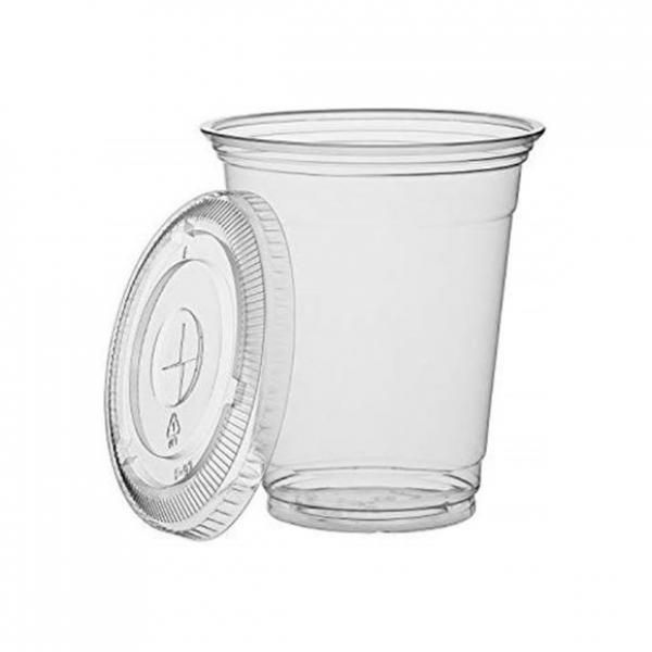 24oz Cold Drink Cup with Flat Lid Food & Catering Packaging FUP1011