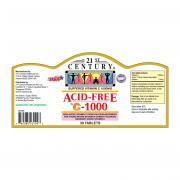 21st Century 30's Acid-Free Vitamin C 1000mg Food and Drink Supplies 2.LABEL-AcidFreeC1000mg30sSHS1001