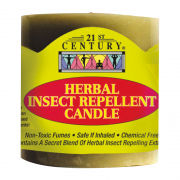 21st Century 300mg Herbal Insect Repellent Candle Personal Care Products 9.BOTTLE-HerbalInsectRepellentCandle300gmSHS1008