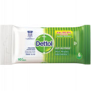 10's Dettol Anti Bacterial Wet Wipes Personal Care Products KBF1005