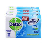 Dettol Body Soap Cool 3+1 Personal Care Products kboo1018