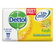Dettol Body Soap Fresh 3+1 Personal Care Products kbo1017