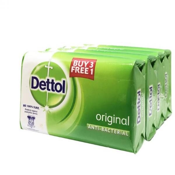 Dettol Body Soap Original 3+1 Personal Care Products KBO1015-1