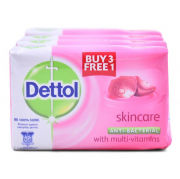 Dettol Body Soap Skincare 3+1 Personal Care Products kbo1020