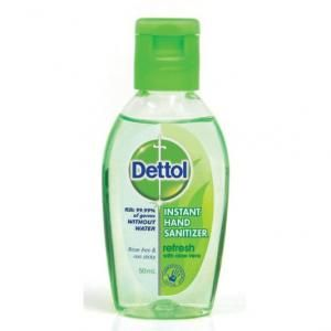 50ml Dettol Hand Sanitizer Refresh Personal Care Products kho1023