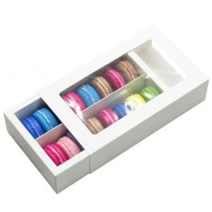 Big Macaron Box With Window Food & Catering Packaging FOF1005