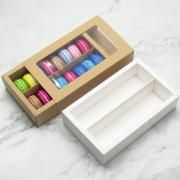 Big Macaron Box With Window Food & Catering Packaging FOF1005-1