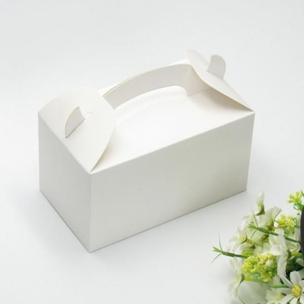 Rectangle Cake Box with Handle Food & Catering Packaging FOF1006