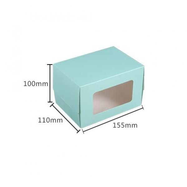 Small Cake/Swiss Roll Box With Window Food & Catering Packaging FOF1009