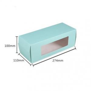 Big Cake/Swiss Roll Box With Window Food & Catering Packaging FOF1010