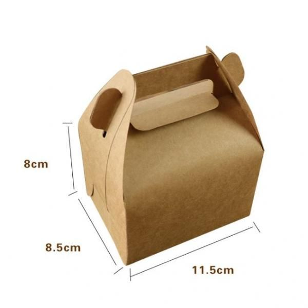 11.5*8.5*8cm Pastry Carrier Box Food & Catering Packaging FOF1014