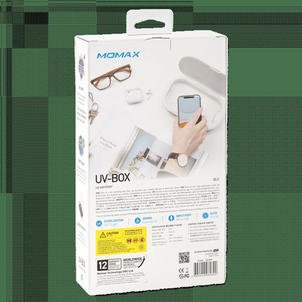 Momax UV Sanitizing Box Electronics & Technology uvboxpackaging1