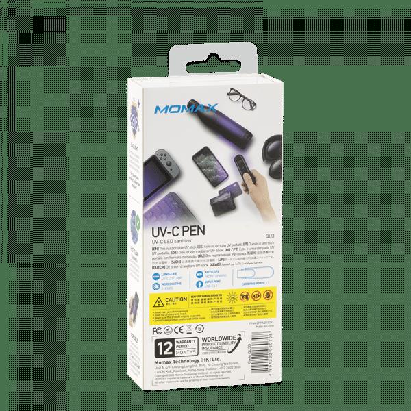 Momax UV Pen LED Sanitizer Electronics & Technology QU3BK_07_800