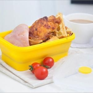 Collapsible Lunch Box 540ml Household Products Kitchenwares Eco Friendly HKL1017-1