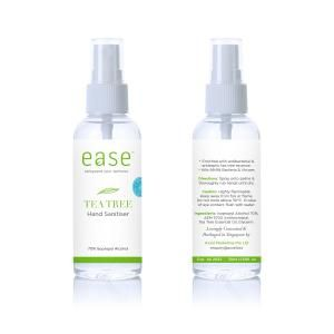 EASE 50ml Tea Tree Spray Sanitizer AEM Personal Care Products KHO1041_Axxel Ease Products_50ml(Tea Tree)(AEM)
