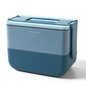 Gusto Double Decker Microwaveable Lunch Box Household Products Kitchenwares Eco Friendly 6