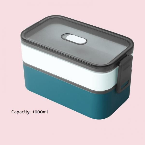 Carte Double Tier Microwaveable Lunch Box Household Products Kitchenwares Eco Friendly 6