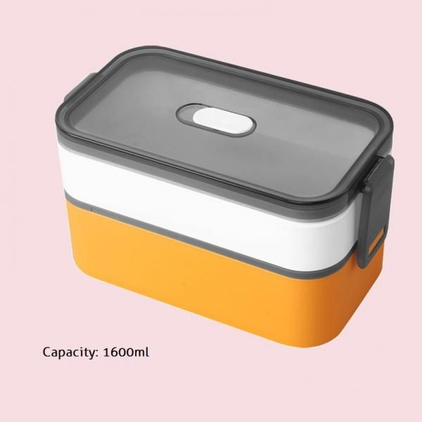 Carte Double Tier Microwaveable Lunch Box Household Products Kitchenwares Eco Friendly 7
