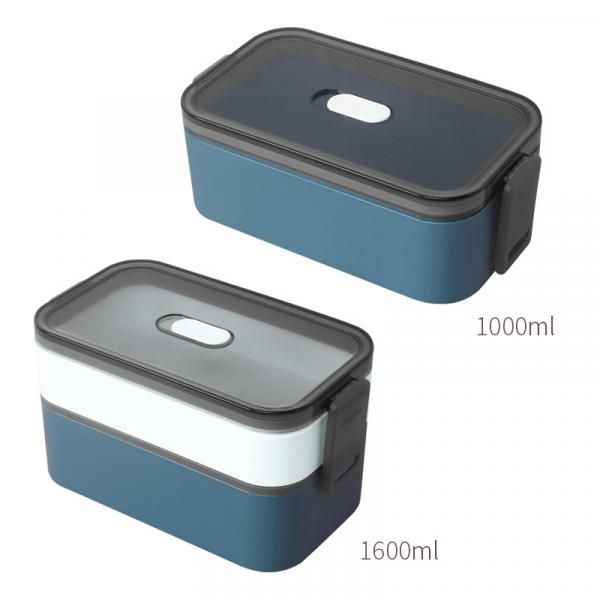 Carte Double Tier Microwaveable Lunch Box Household Products Kitchenwares Eco Friendly 1