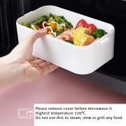 Carte Double Tier Microwaveable Lunch Box Household Products Kitchenwares Eco Friendly 10