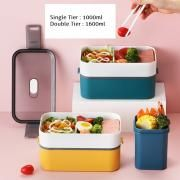 Carte Double Tier Microwaveable Lunch Box Household Products Kitchenwares Eco Friendly 12