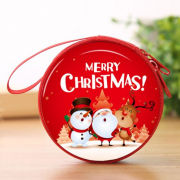 Christmas Coin Pouch Round 12 Recreation Small Pouch Festive Products TSP1108