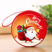 Christmas Coin Pouch Round 13 Recreation Small Pouch Festive Products TSP1109