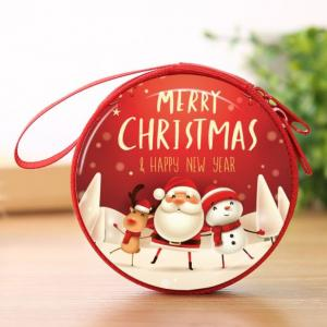 Christmas Coin Pouch Round 14 Festive Products TSP1110