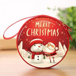 Christmas Coin Pouch Round 15 Festive Products TSP1111