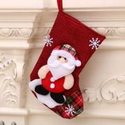 Christmas Socks Santa Claus Recreation Small Pouch Festive Products RGO1007