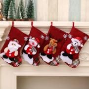 Christmas Socks Reindeer Recreation Small Pouch Festive Products z