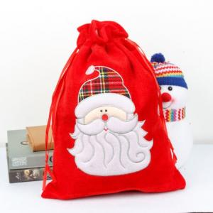 30x40cm Christmas Handy Pouch Santa Design Small Pouch Festive Products 1
