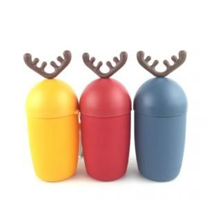 300ml Reindeer Design Water Flask Household Products Festive Products HDF1017