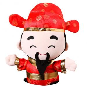 CNY Fortune Plush Toy Recreation Festive Products Capture