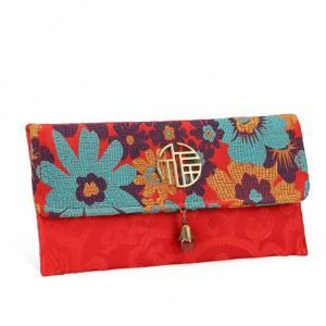 CNY Embroidery Design Pouch 1 Small Pouch Festive Products TSP1119