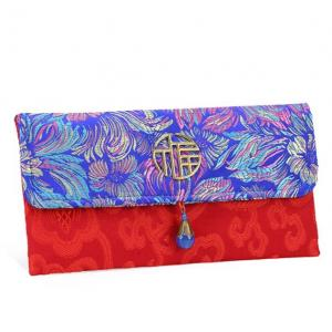 CNY Embroidery Design Pouch 2 Small Pouch Festive Products TSP1120